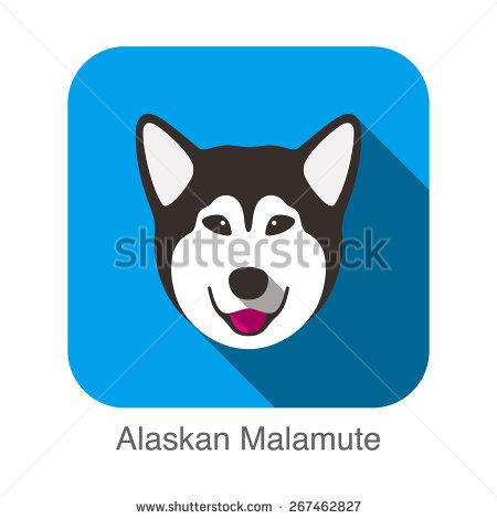 Alaskan Malamute svg #16, Download drawings