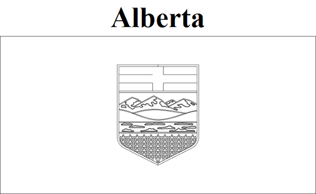 alberta coloring pages - photo#4