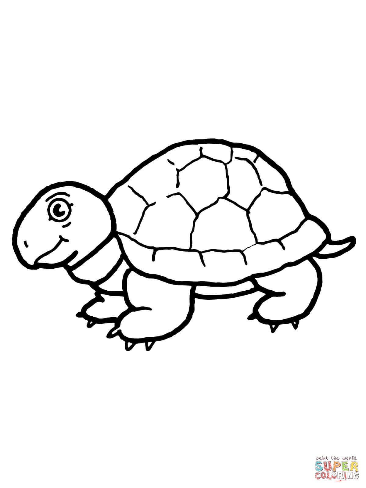 Tortoise coloring #2, Download drawings