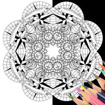Alex Grey coloring #12, Download drawings