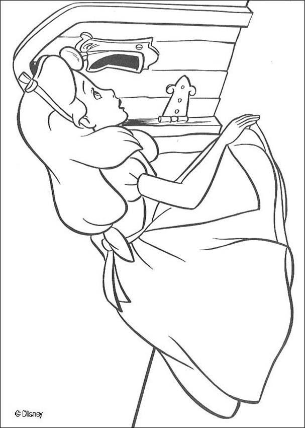 Alice (Alice In Wonderland) coloring #14, Download drawings
