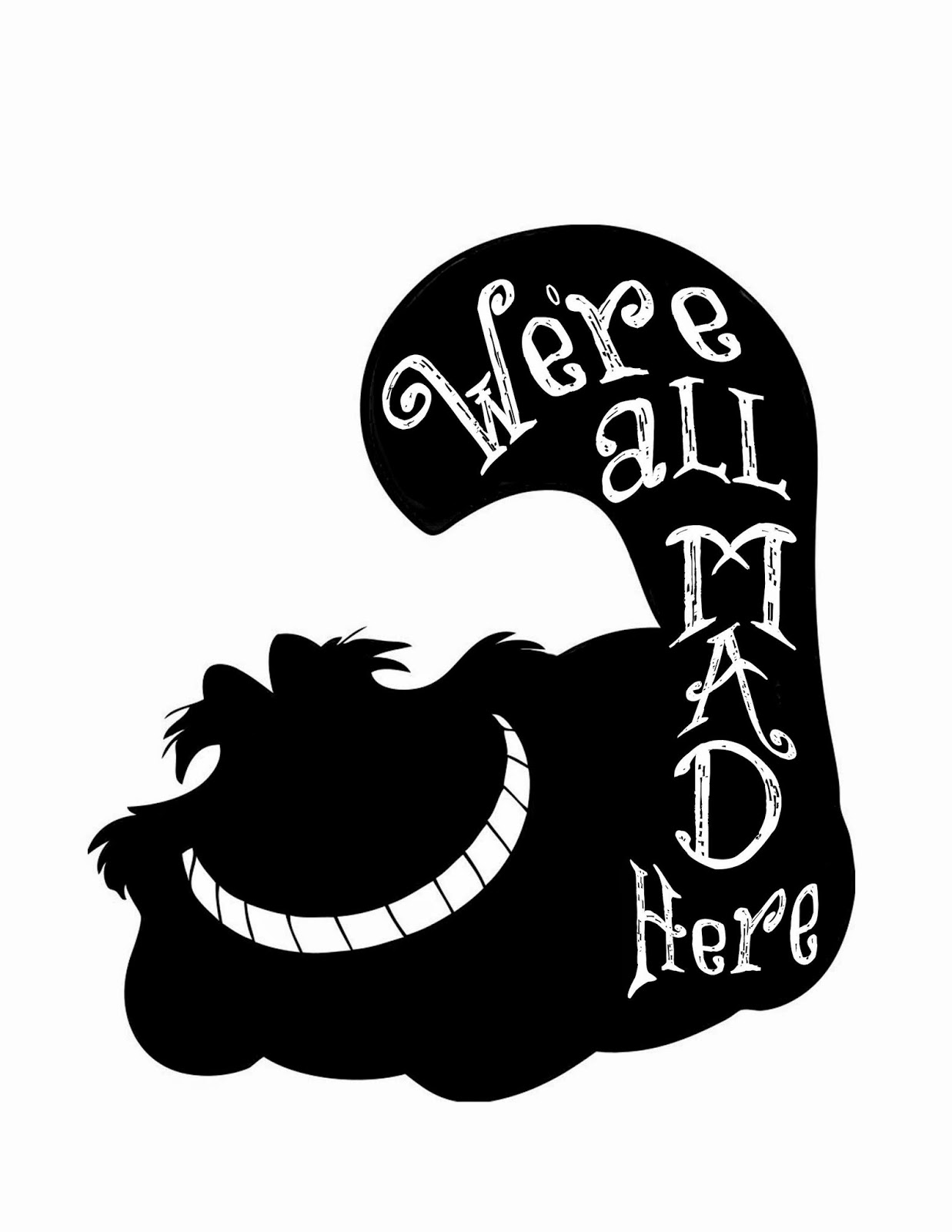 Alice In Wonderland svg #4, Download drawings