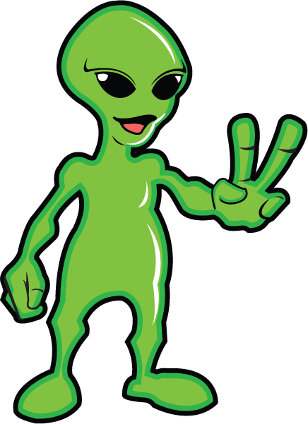 Alien clipart #6, Download drawings
