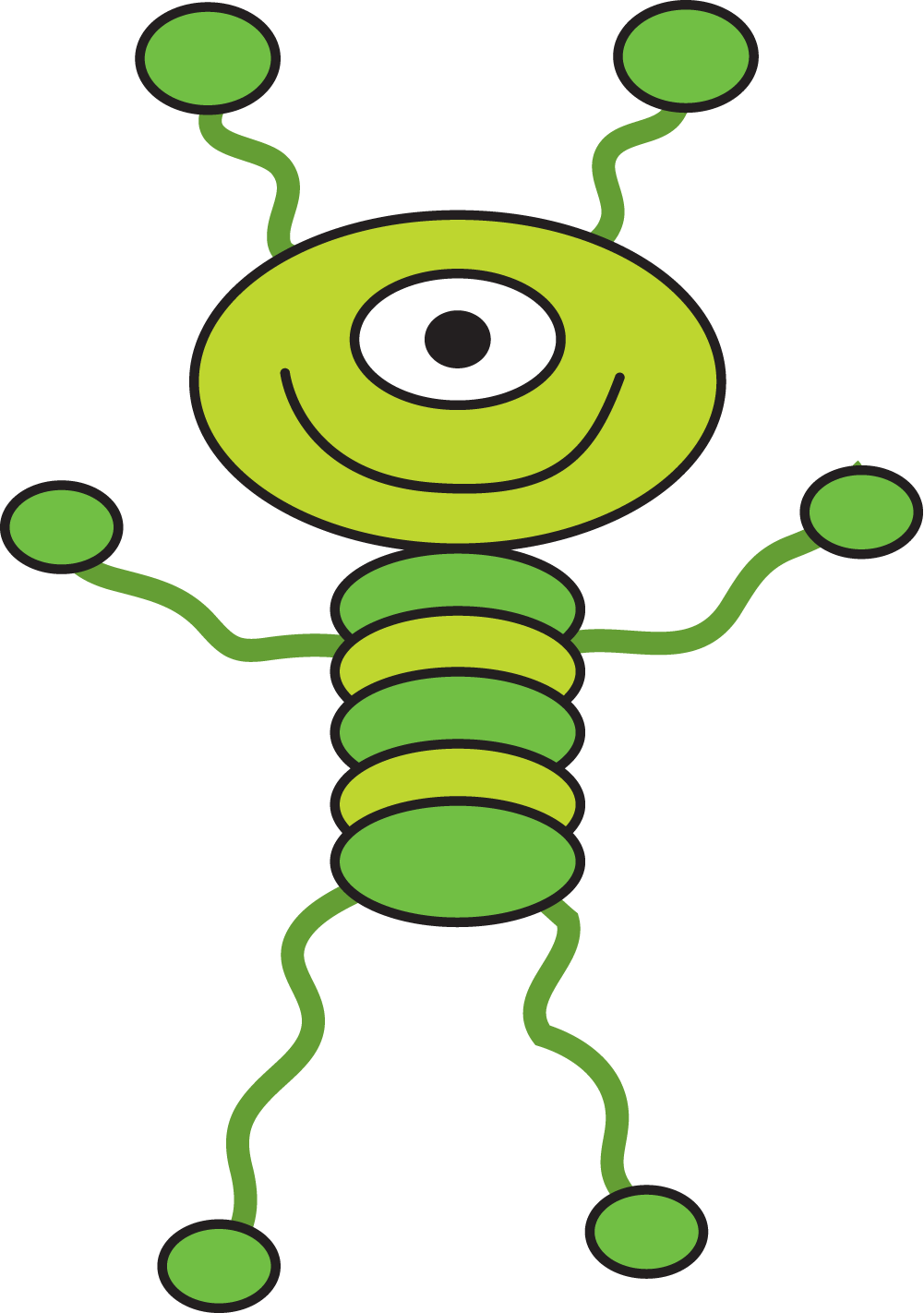 Alien clipart #10, Download drawings