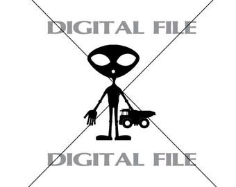 Alien svg #11, Download drawings