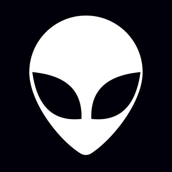Alien svg #3, Download drawings