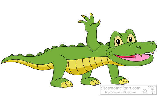 Alligator clipart #2, Download drawings