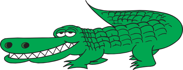 Alligator clipart #16, Download drawings