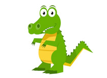 Alligator clipart #13, Download drawings