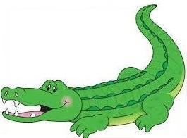 Alligator clipart #4, Download drawings