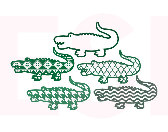 Alligator svg #14, Download drawings