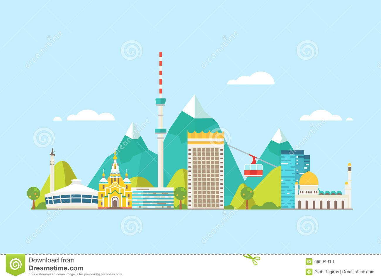 Almaty clipart #18, Download drawings