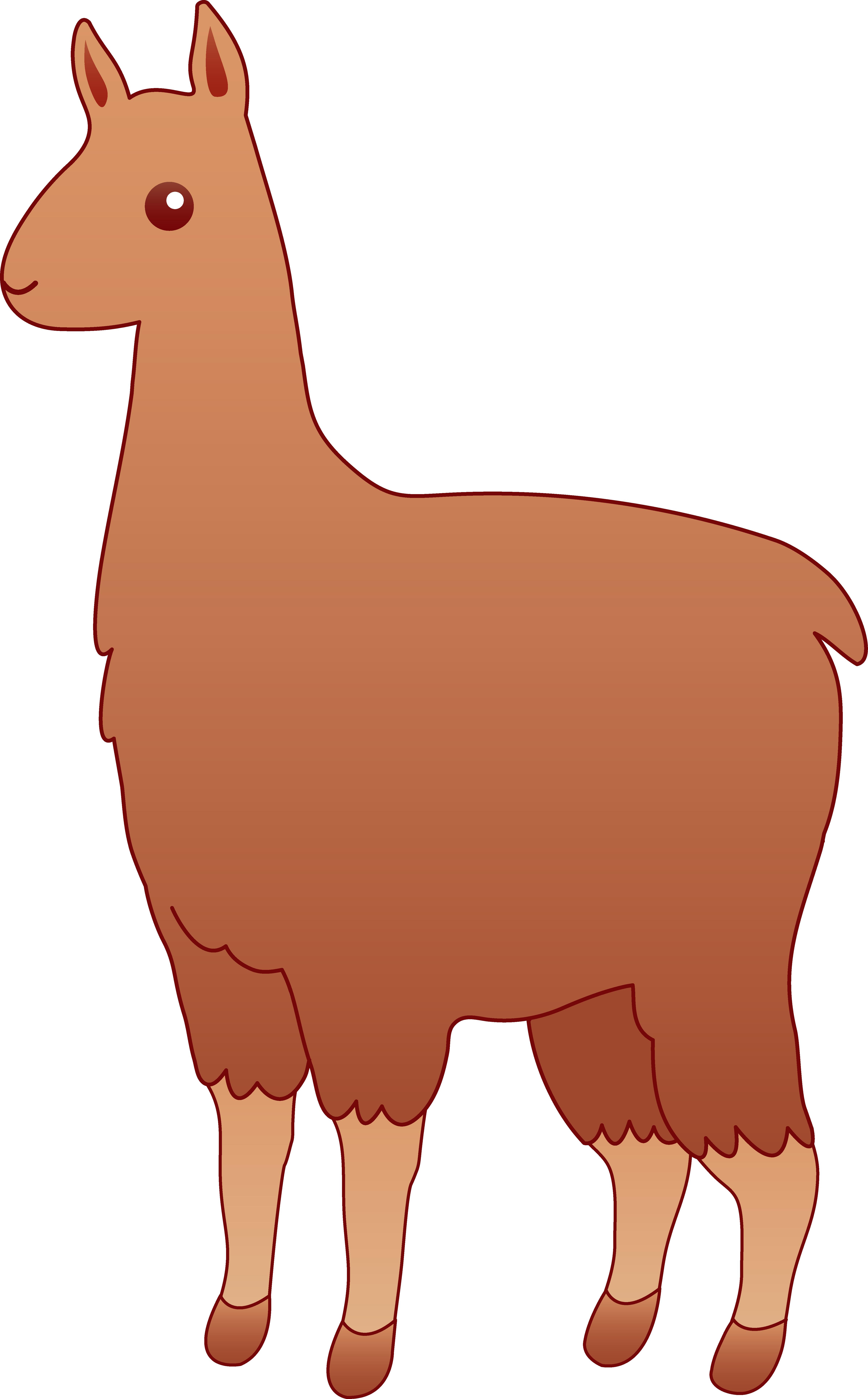 Lama clipart #4, Download drawings