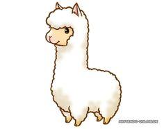 Alpaca clipart #20, Download drawings