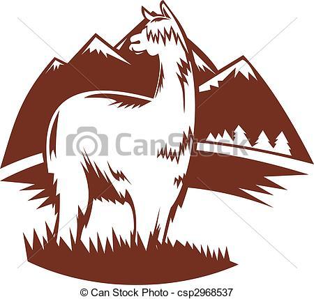 Alpaca clipart #7, Download drawings