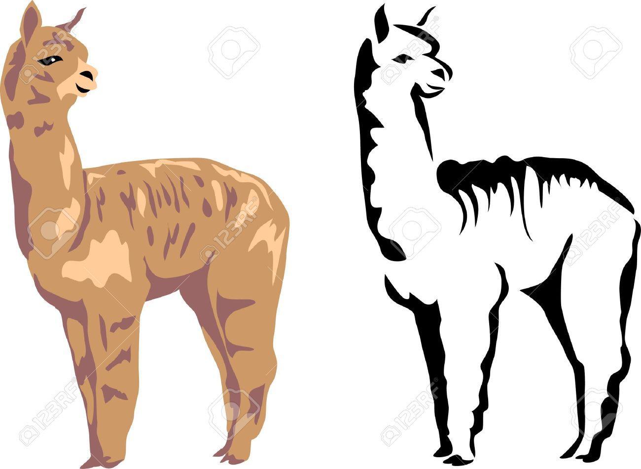 Alpaca clipart #6, Download drawings