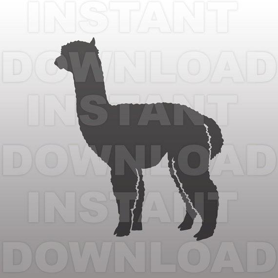 Alpaca svg #6, Download drawings