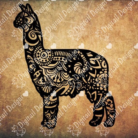 Alpaca svg #209, Download drawings