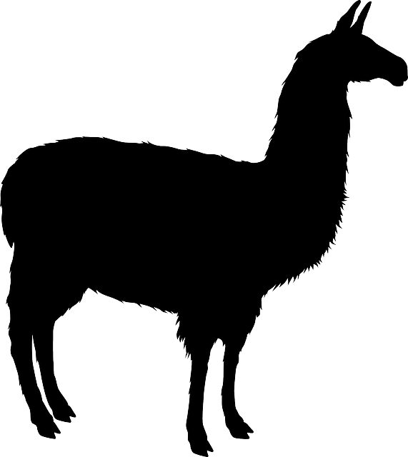 Llama svg #17, Download drawings