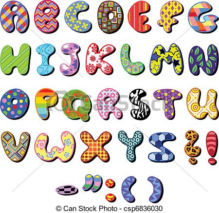 Alphabet clipart #3, Download drawings