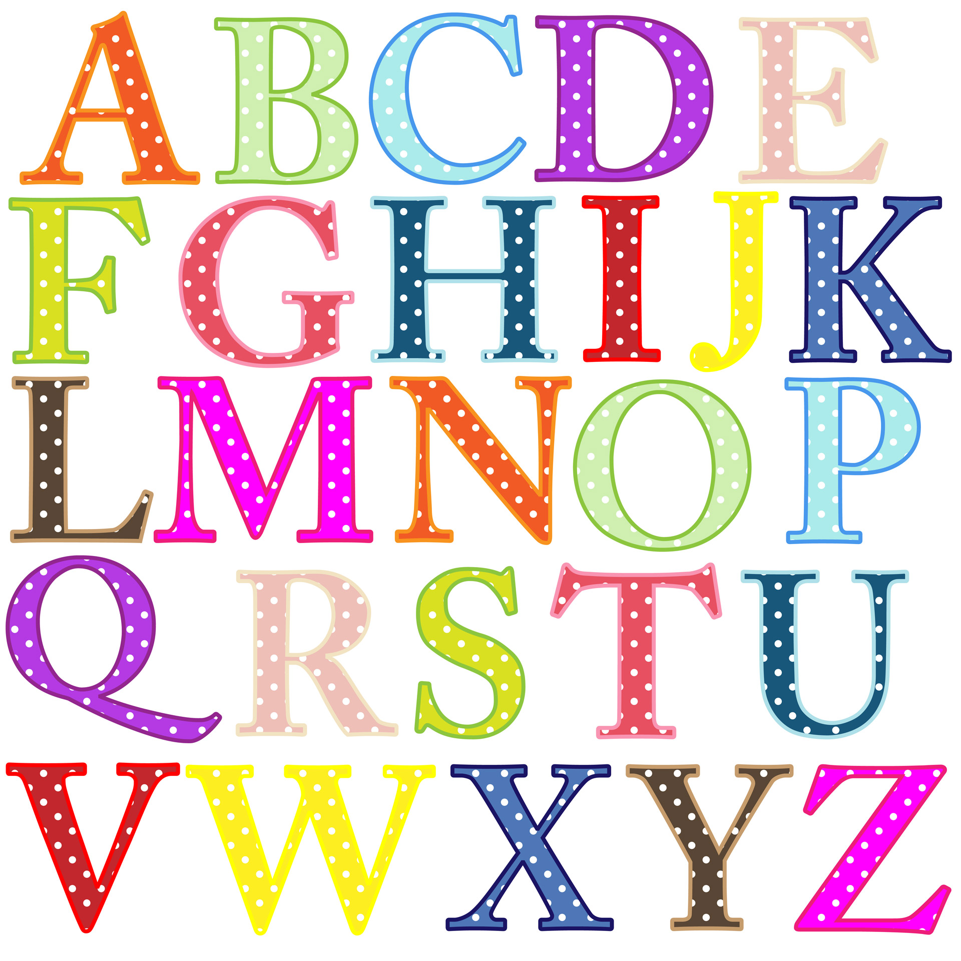 Alphabet clipart #18, Download drawings