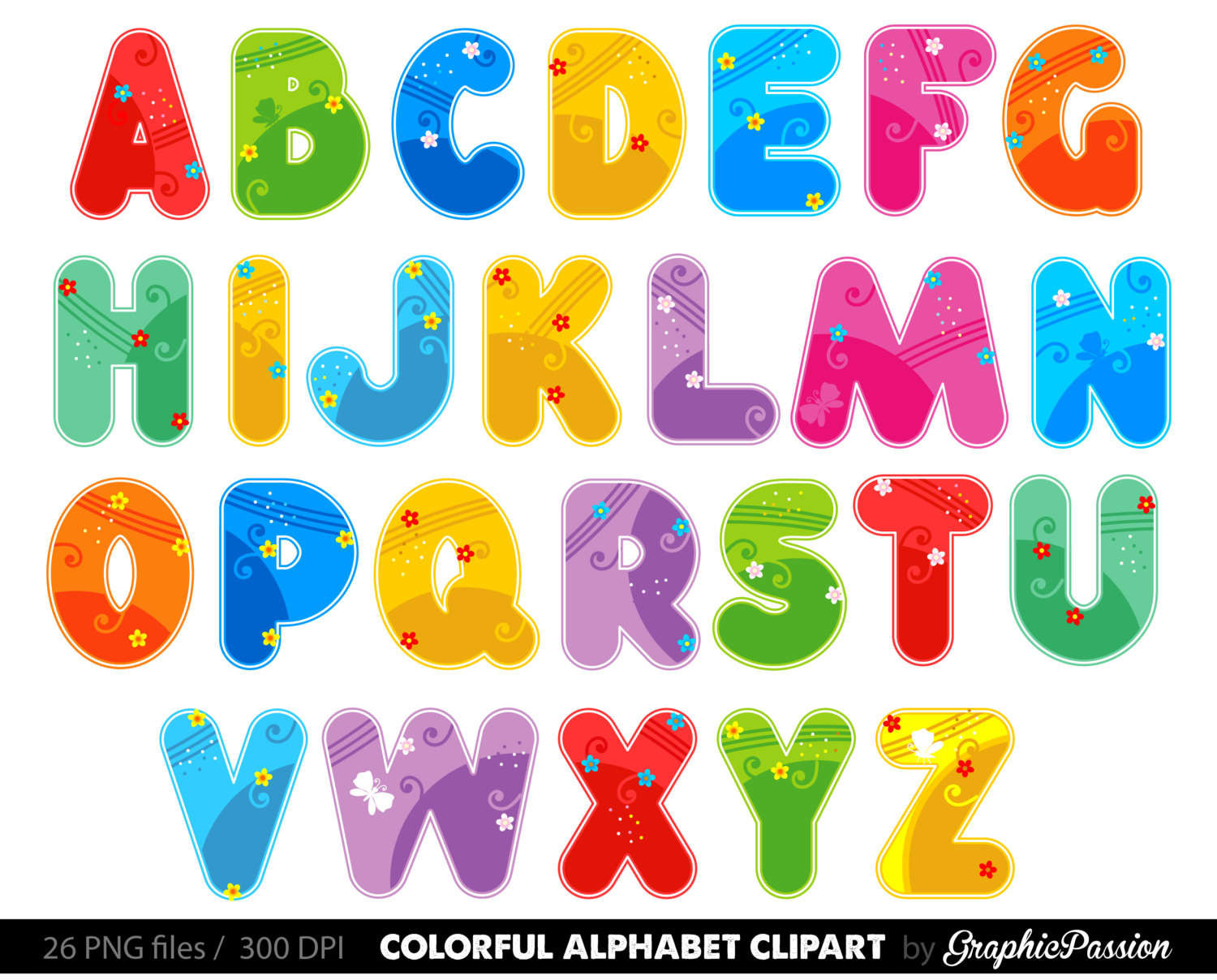 Alphabet clipart #7, Download drawings