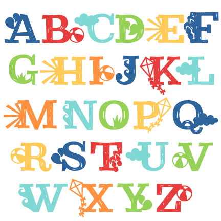Alphabet svg #4, Download drawings