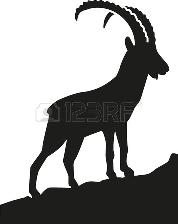 Alpine Ibex clipart #11, Download drawings