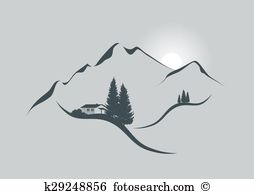 Alps clipart #19, Download drawings