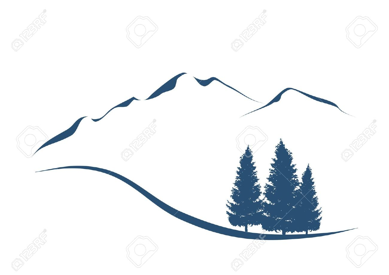 Alps Mountain clipart #5, Download drawings
