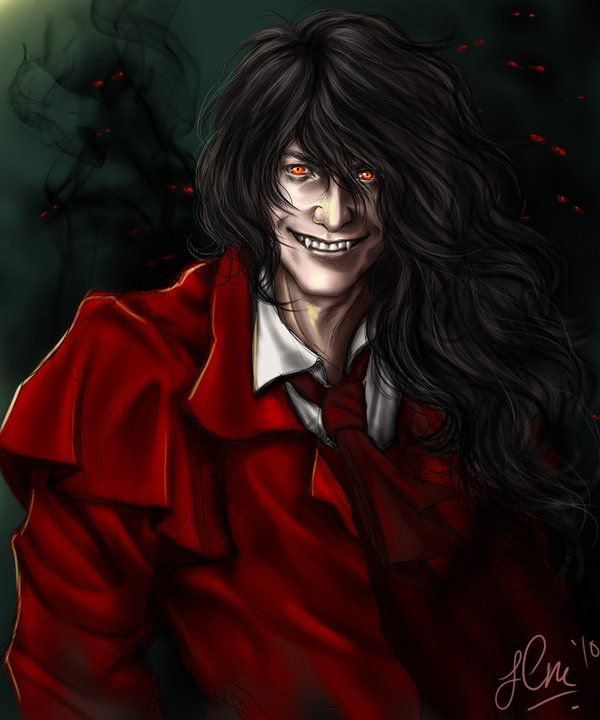 Alucard (Hellsing) svg #6, Download drawings