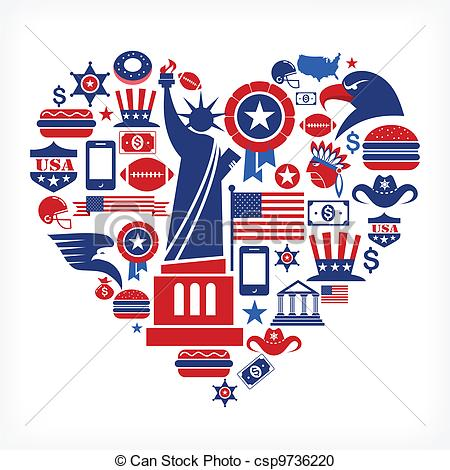 America clipart #12, Download drawings