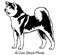 American Akita clipart #9, Download drawings