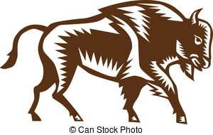 American Bison clipart #9, Download drawings