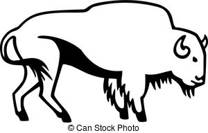 American Bison clipart #20, Download drawings