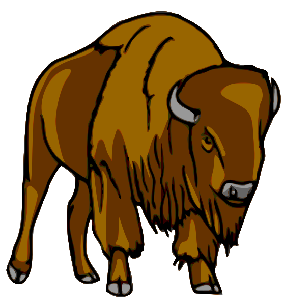 American Bison clipart #13, Download drawings