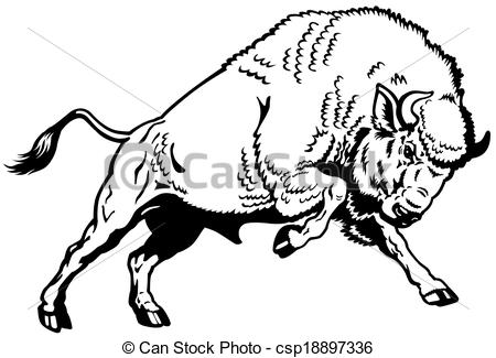 American Bison clipart #18, Download drawings