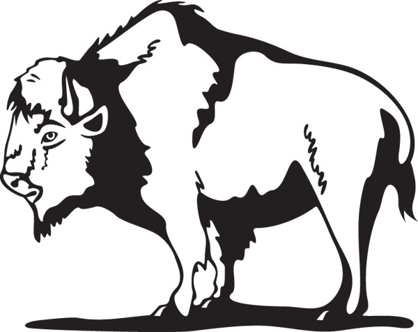 American Bison clipart #5, Download drawings