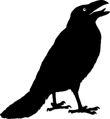 American Crow clipart #5, Download drawings