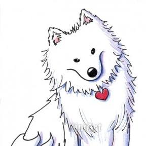 American Eskimo Dog clipart #11, Download drawings