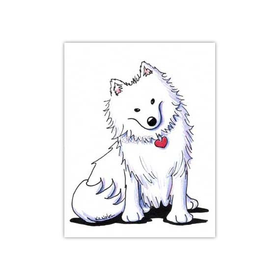 American Eskimo Dog clipart #2, Download drawings