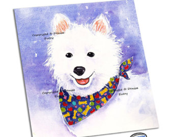 American Eskimo Dog svg #10, Download drawings