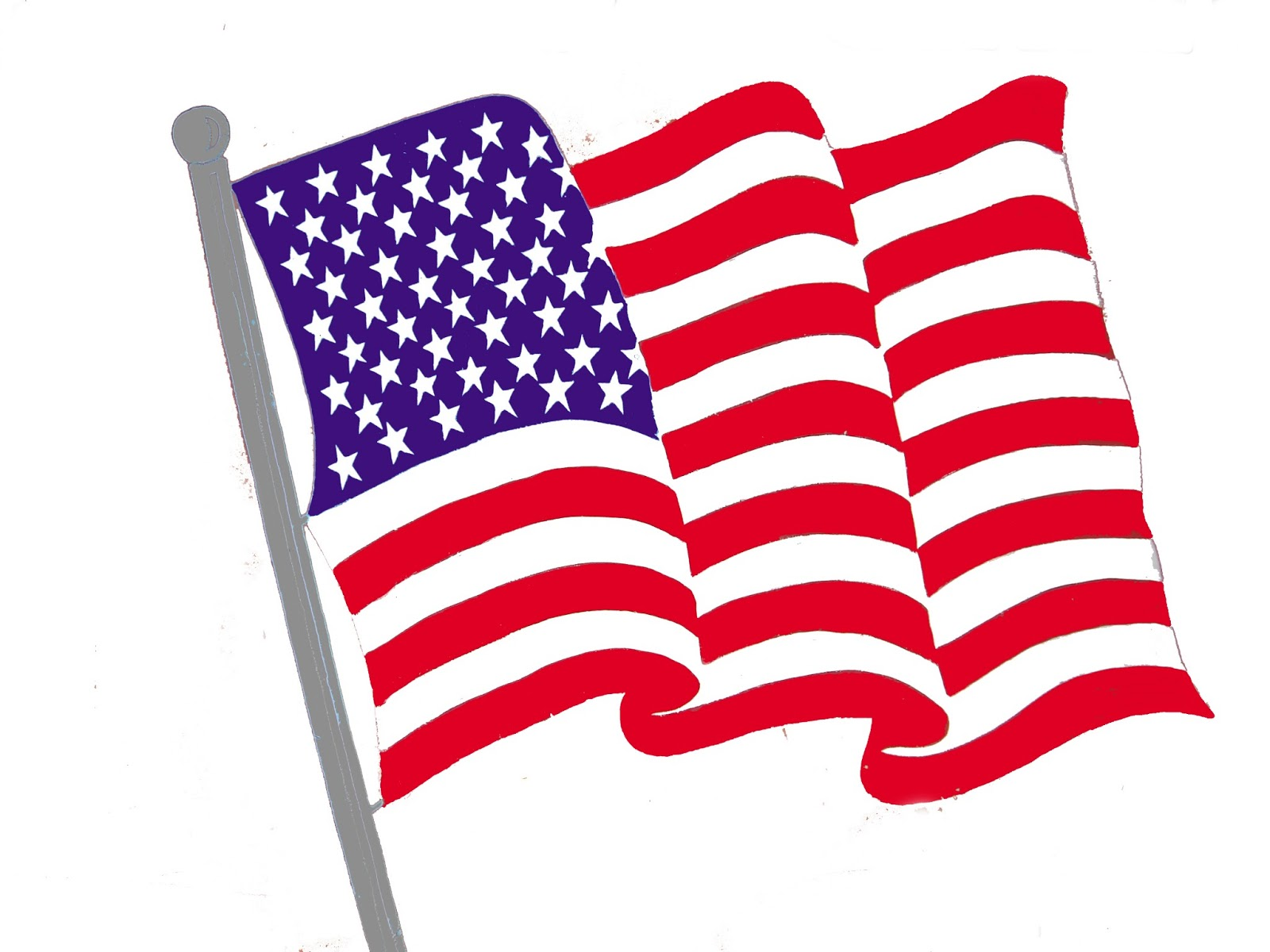 American Flag clipart #6, Download drawings