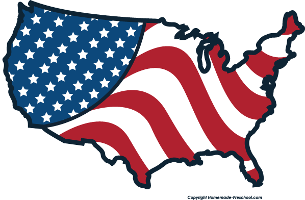 American Flag clipart #12, Download drawings