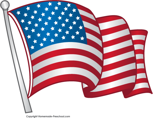 American Flag clipart #2, Download drawings