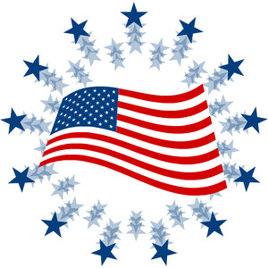 American Flag clipart #1, Download drawings