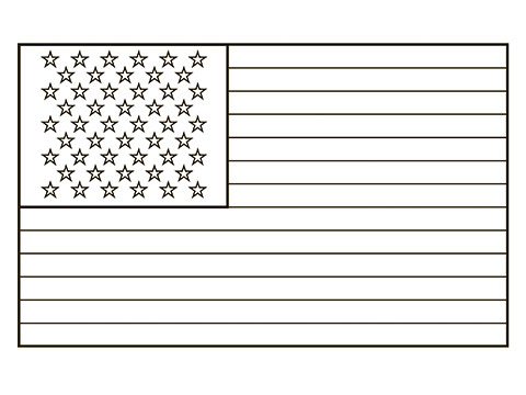 Flag coloring #9, Download drawings