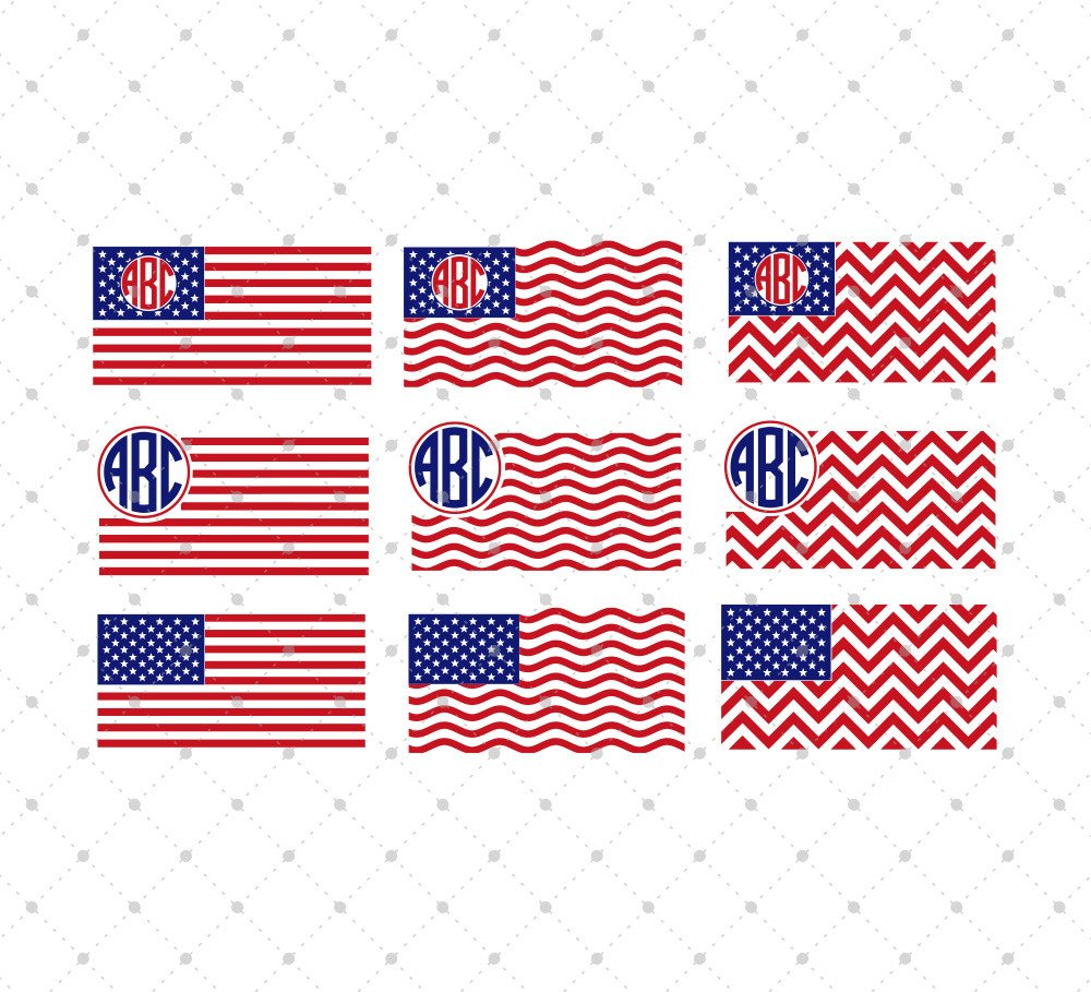American Flag svg #9, Download drawings