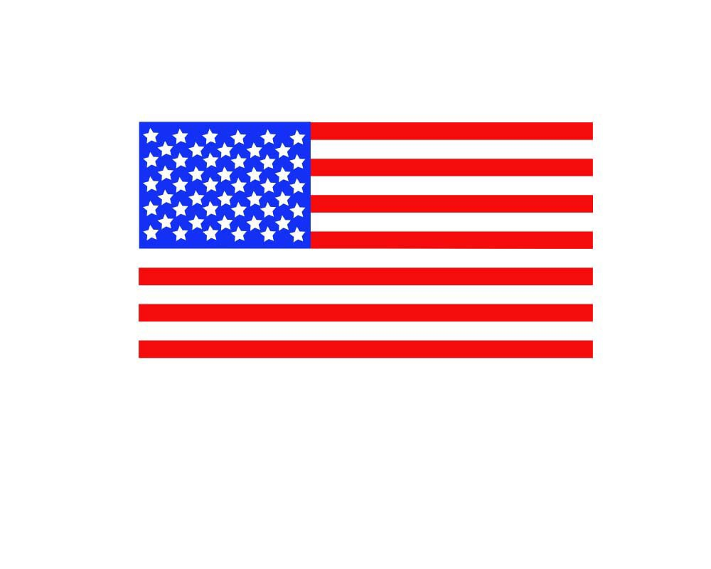 American Flag svg #2, Download drawings