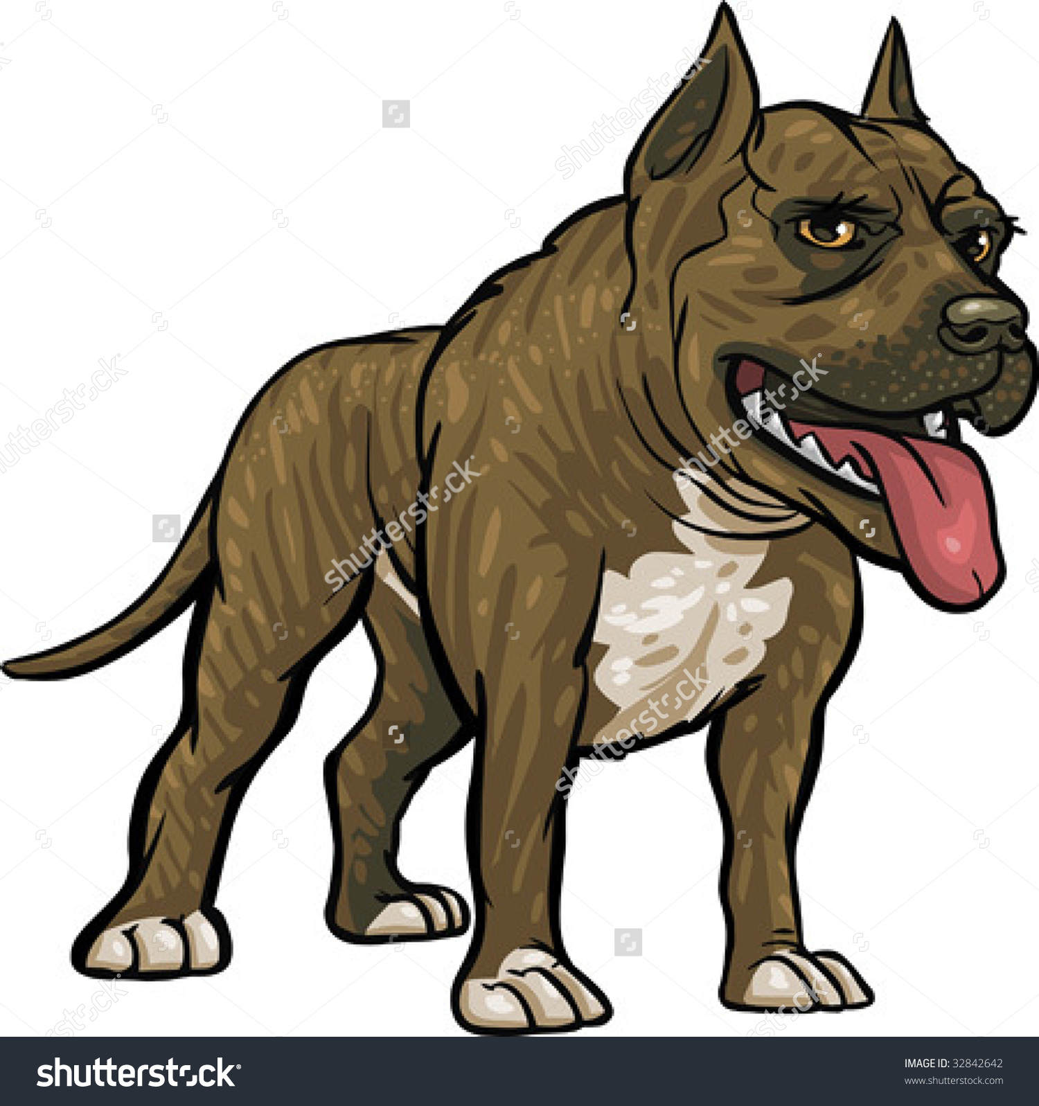 American Pit Bull Terrier clipart #2, Download drawings